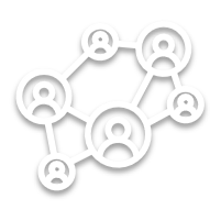 Mehrwert-Icon: Netzwerk